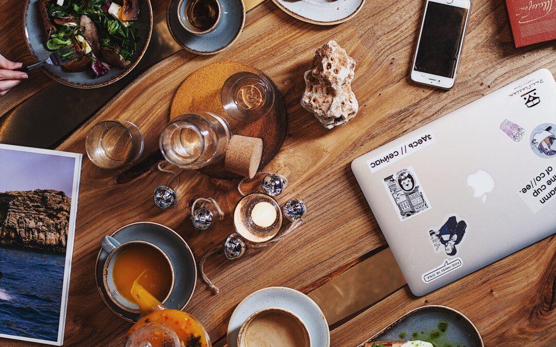 Weblog over eten maken, hoe doe je dat?
